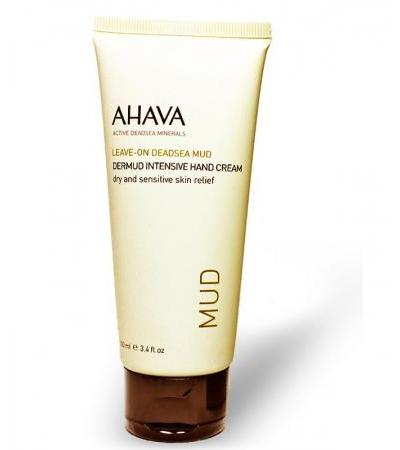 AHAVA Leave-on Deadsea Mud, Dermud Intensive Hand Cream