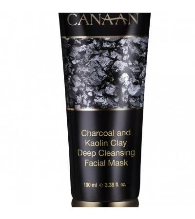 Canaan Charcoal and Kaolin Clay Deep Cleansing Facial Mask