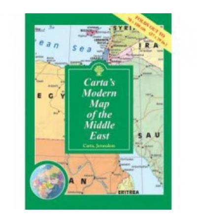 Carta's Map of the Middle East