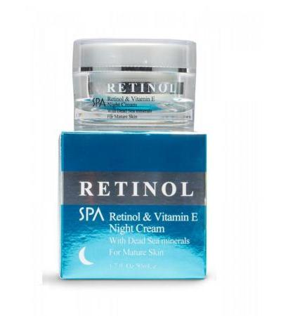 Dead Sea Spa Cosmetics Retinol Vitamin E Night Cream