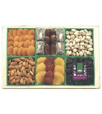 Dried Fruit & Nut Crate-Kosher Gift Tray (USA Only)