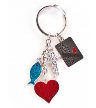 Holy Land Charms, Israel Keychains