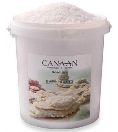 Pure Natural Dead Sea Salt Bulk (5 Kg /11 lbs Bucket )