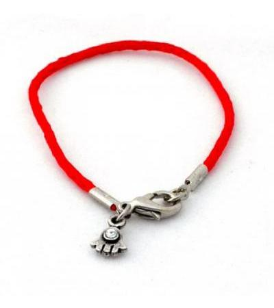 Silk Red String Hamsa Bracelet
