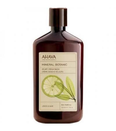 Ahava Mineral Botanic Cream Wash- Lemon Sage