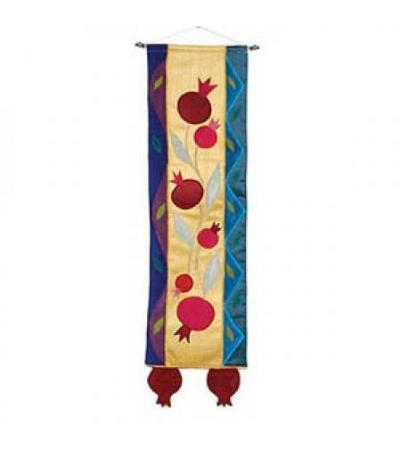 Emanuel Pomegranate Wallhanging-Multi