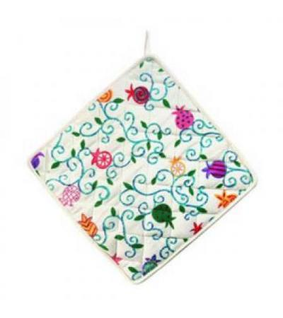 Multicolor Pomegranates Potholder