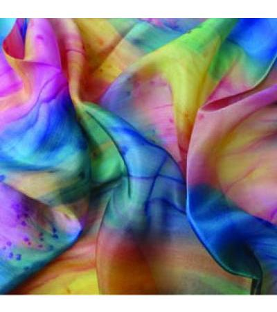 Silk Scarf- Rainbow